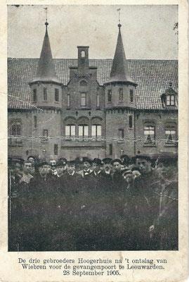 Ansichtkaart Gevangenis Leeuwarden A0139-a