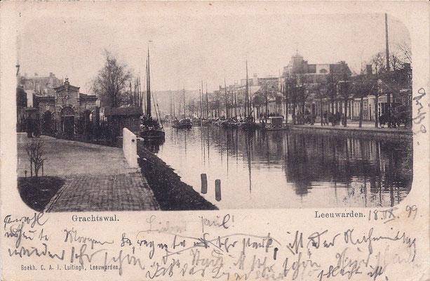 Ansichtkaart Gevangenis Leeuwarden A0067-a
