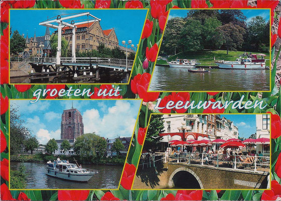 Ansichtkaart Gevangenis Leeuwarden A0094-a