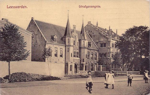 Ansichtkaart Gevangenis Leeuwarden A0024-a