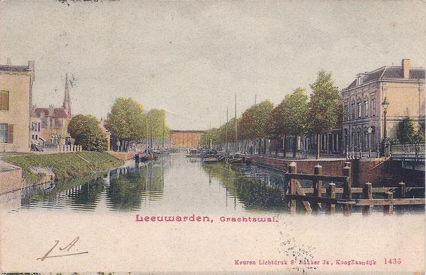 Ansichtkaart Gevangenis Leeuwarden A0008-a