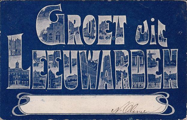 Ansichtkaart Gevangenis Leeuwarden A0071-a
