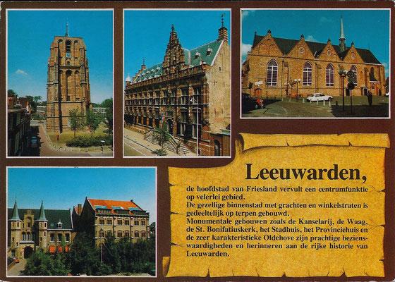 Ansichtkaart Gevangenis Leeuwarden DA0075-a