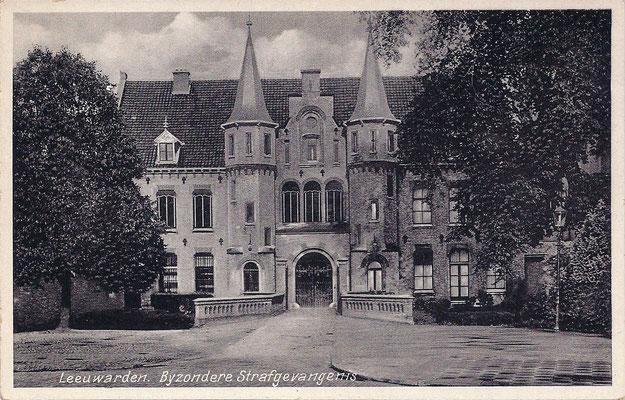 Ansichtkaart Gevangenis Leeuwarden A0089-a