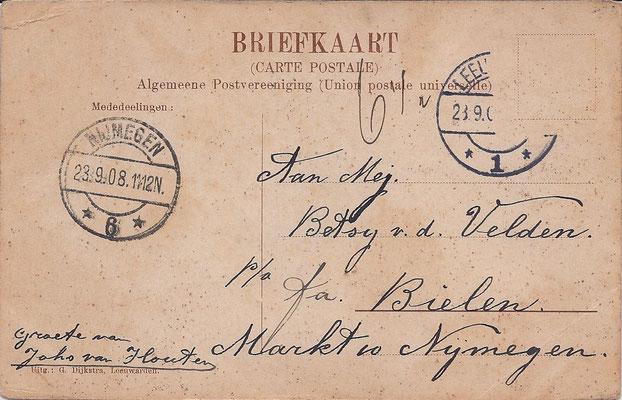 Ansichtkaart Gevangenis Leeuwarden A0065-b