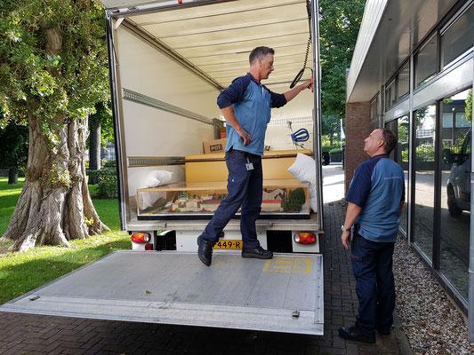 Maquette op reis 13 juli 2017 Depot Veenhuizen