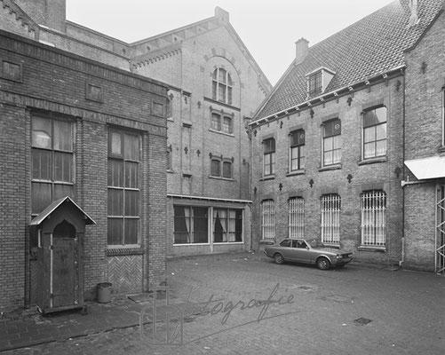 Huis van Bewaring binnenplaats dienstwoning 1983