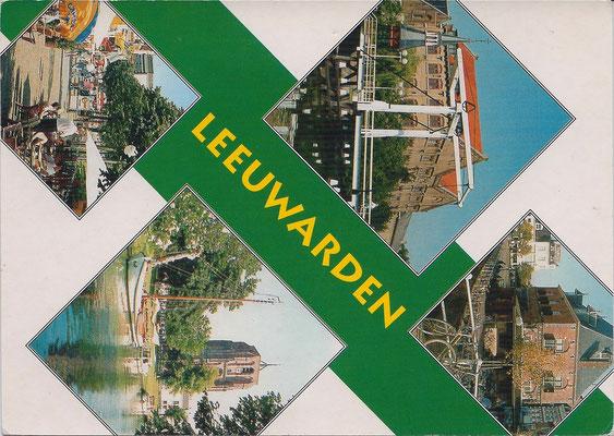 Ansichtkaart Gevangenis Leeuwarden A0079-a