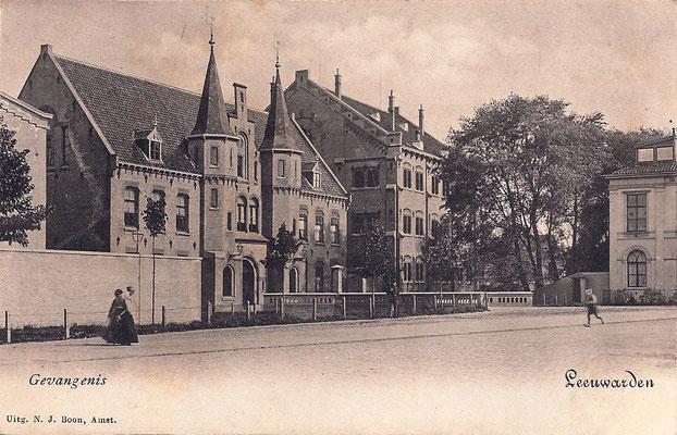 Ansichtkaart Gevangenis Leeuwarden A0002-a