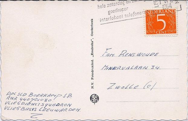Ansichtkaart Gevangenis Leeuwarden A0085-b