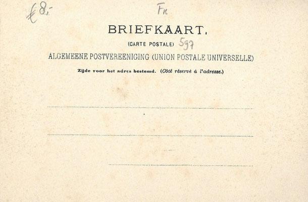 Ansichtkaart Gevangenis Leeuwarden A0156-b