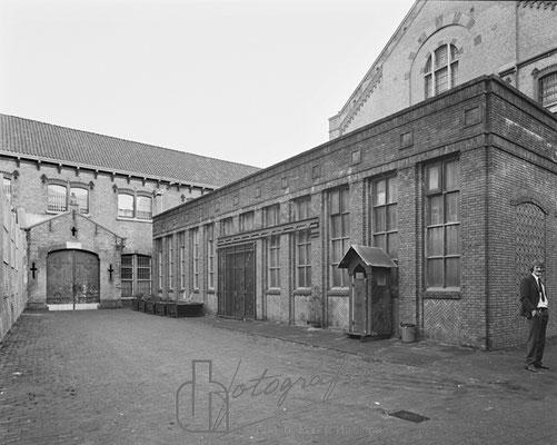 Huis van Bewaring binnenplaats smederij 1983
