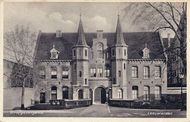 Ansichtkaart Gevangenis Leeuwarden A0122-a
