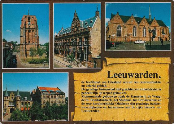 Ansichtkaart Gevangenis Leeuwarden A0075-a
