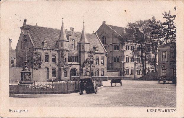 Ansichtkaart Gevangenis Leeuwarden DA0044a-a