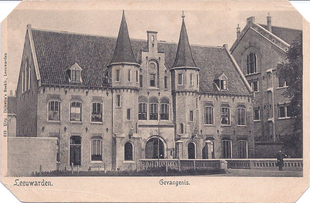 Ansichtkaart Gevangenis Leeuwarden DA0006-a