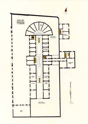 Eerste verdieping: groep Oppewal en Kuiper