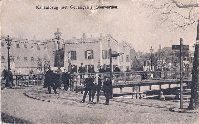 Ansichtkaart Gevangenis Leeuwarden A0092-a