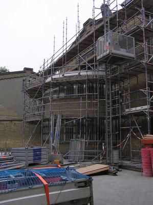 Verbouwing Blokhuispoort mei 2016