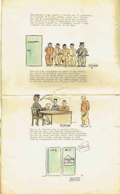 Jubileumboekje Directeur A.B.R. Jansen (16-03-1943) aangeboden door gevangenispersoneel.