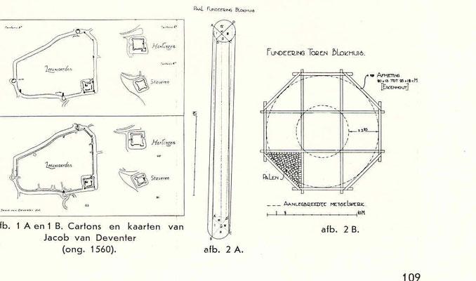 bouwtekening pijnigtoren