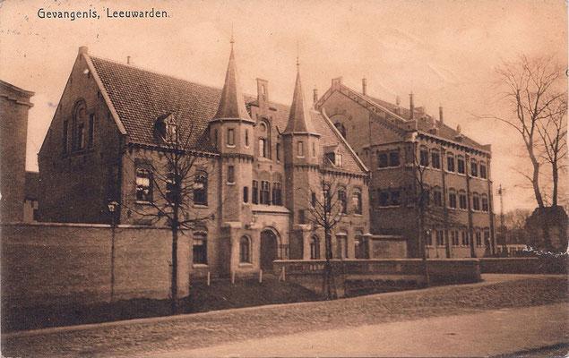 Ansichtkaart Gevangenis Leeuwarden A0026-a