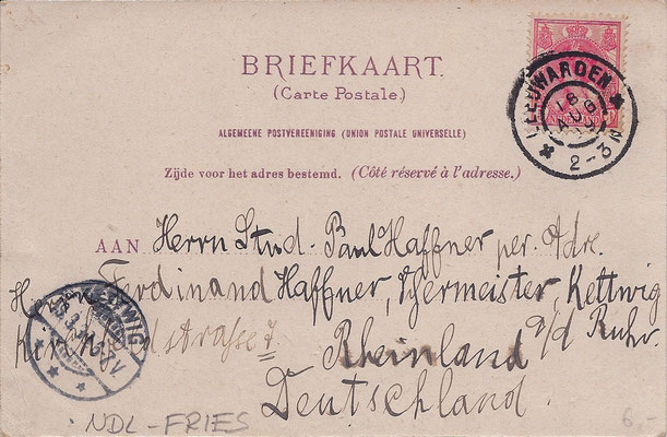 Ansichtkaart Gevangenis Leeuwarden A0067-b