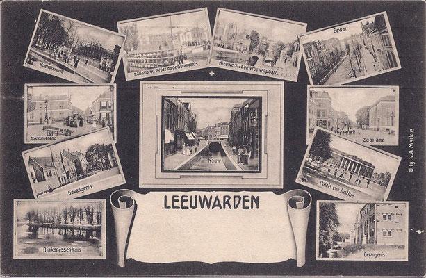 Ansichtkaart Gevangenis Leeuwarden A0072-a