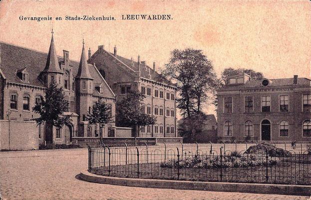 Ansichtkaart Gevangenis Leeuwarden A0001-a
