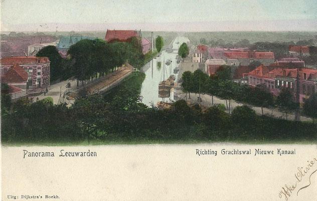 Ansichtkaart Gevangenis Leeuwarden A0157-a