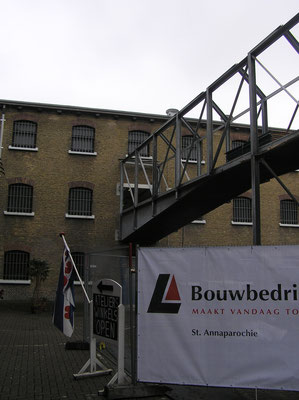 Sloop en verbouw Blokhuispoort april 2015