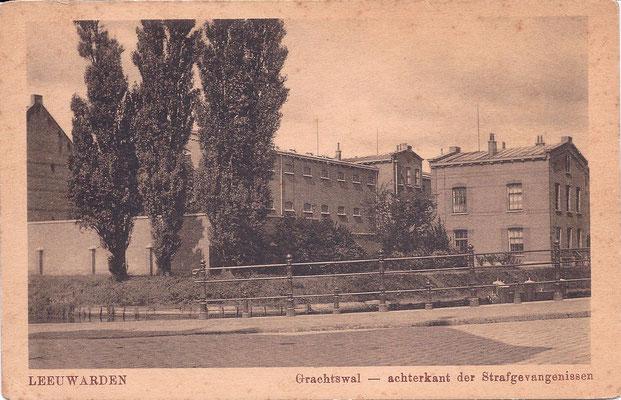 Ansichtkaart Gevangenis Leeuwarden A0050-a