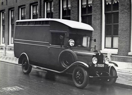 Boevenwagen gemeente Amsterdam G-7035, ca 1925