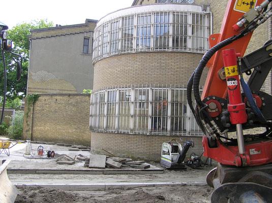 Sloop en verbouw Blokhuispoort juni 2015