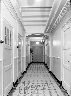 Huis van Bewaring gang portier A vleugel 1962