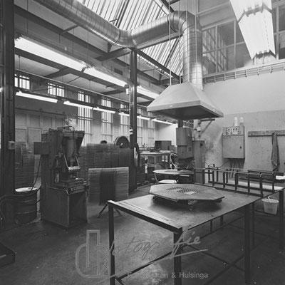 Huis van Bewaring metaalwerkplaats 1983