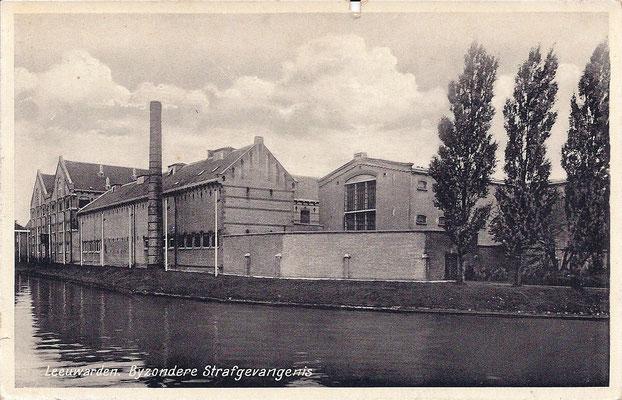 Ansichtkaart Gevangenis Leeuwarden A0120-a