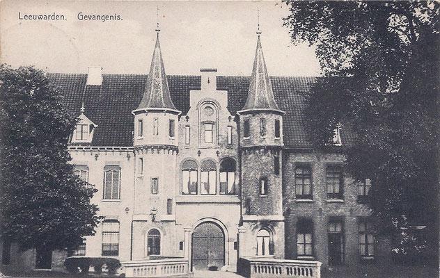 Ansichtkaart Gevangenis Leeuwarden A0042-a