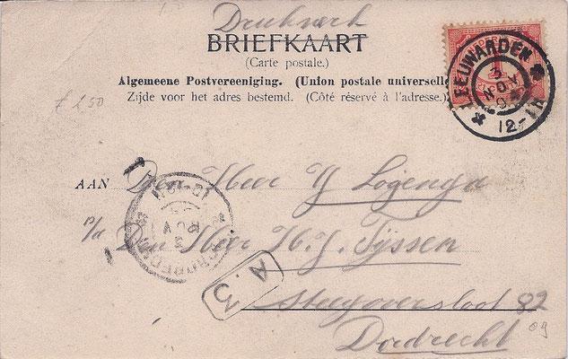 Ansichtkaart Gevangenis Leeuwarden A0060-b