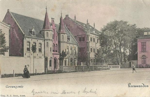 Ansichtkaart Gevangenis Leeuwarden A0152-a