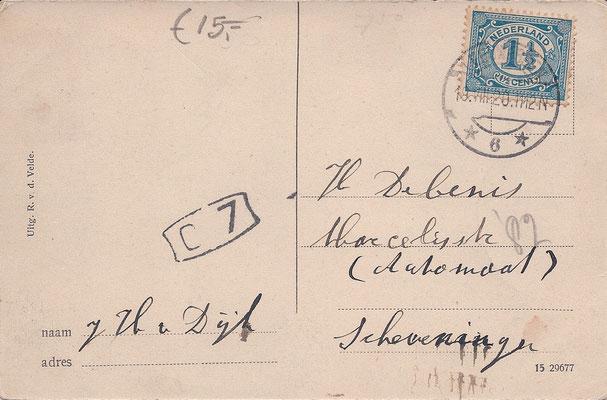 Ansichtkaart Gevangenis Leeuwarden A0012-b