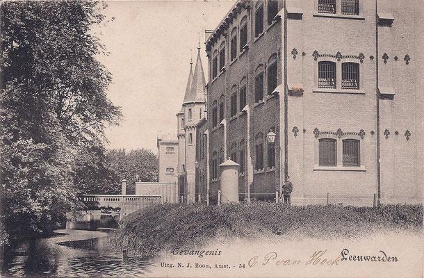 Ansichtkaart Gevangenis Leeuwarden A0093-a
