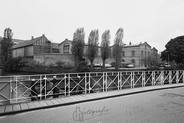 Oosterkade kanaalsbrug Huis van Bewaring 1983
