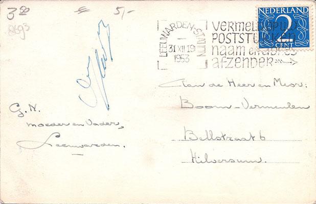Ansichtkaart Gevangenis Leeuwarden A0010-b