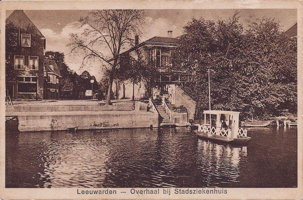 Ansichtkaart Gevangenis Leeuwarden A0052-a