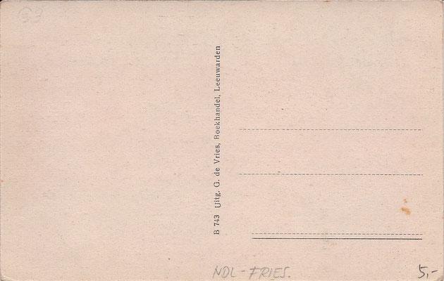 Ansichtkaart Gevangenis Leeuwarden A0023-b