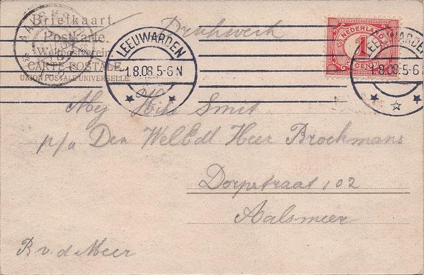 Ansichtkaart Gevangenis Leeuwarden A0072-b