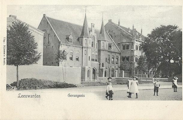 Ansichtkaart Gevangenis Leeuwarden A0159-a