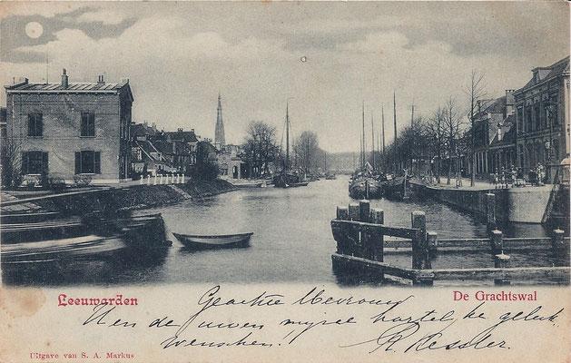 Ansichtkaart Gevangenis Leeuwarden A0021-a