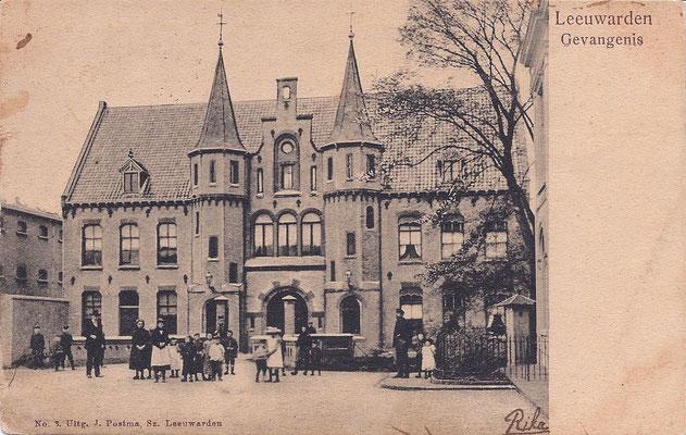 Ansichtkaart Gevangenis Leeuwarden A0028-a